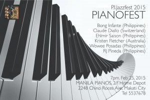 PIANO JAZZFEST AT MANILAPIANOS INC.